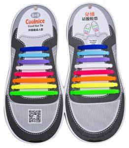 lacets-chaussures-elastiques-coolnice-arc-en-ciel