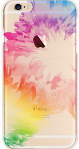 coque rigide arc en ciel fleurs plumes iphone6 1 159x300