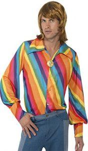deguisement-chemise-70s-arc-en-ciel