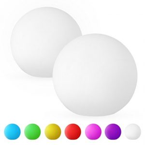 lampe globe led couleurs arc-en-ciel