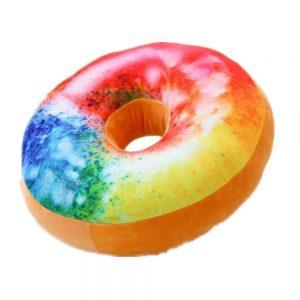 coussin-donut-arc-en-ciel