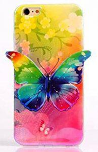 coque-souple-arc-en-ciel-papillon-iphone