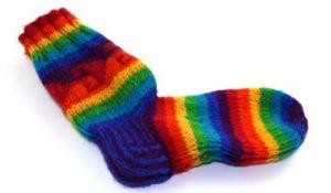 chaussettes-en-laine-arc-en-ciel