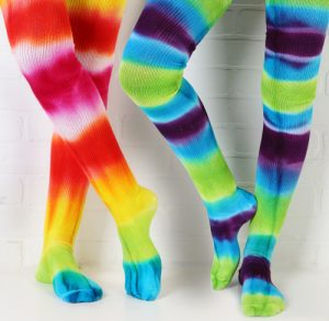 Teindre ses chaussettes