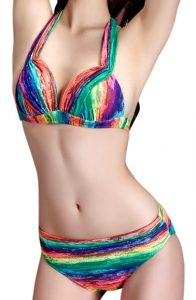 bikini-push-up-rayures-arc-en-ciel