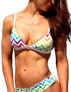 maillot-2-pieces-arc-en-ciel-zigzag