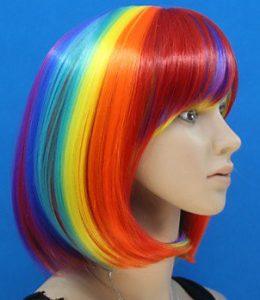 Des perruques arc-en-ciel | Rainbow blog