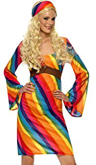 deguisement-robe-hippie-arc-en-ciel