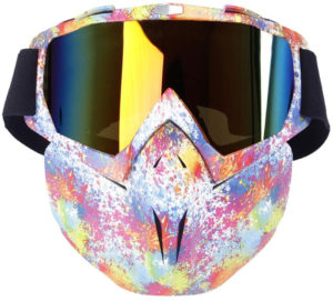 Masque coupe-vent rainbow