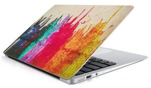 autocollant capot macbook-air-peinture-degoulinante