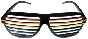 Shutter shades arc-en-ciel