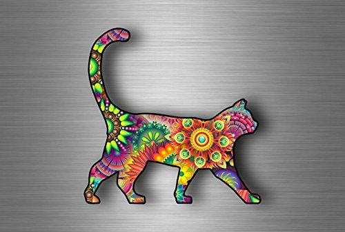 Sticker chat arc-en-ciel