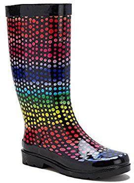 Des bottes arc en ciel pour affronter l'hiver | Rainbow blog
