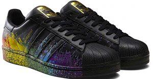 Adidas pride-pack noir arc-en-ciel