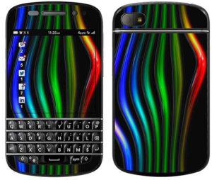 Autocollant pour BlackBerry Q10
