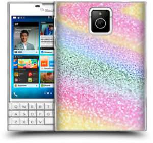 Coque en Gel arc-en-ciel pour BlackBerry Passport