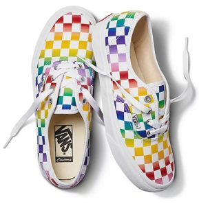 Vans Rainbow checkerboard