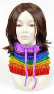 Bonnet foulard écharpe