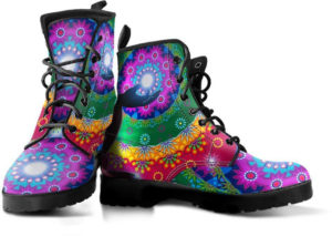 Boots Chakra Mandala ar-cne-ciel