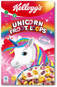 Kellogg's Unicorn Froot Loops