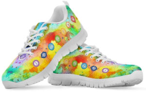 Sneakers Chakra rainbow