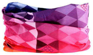 Bandana snood 3 en 1 arc-en-ciel