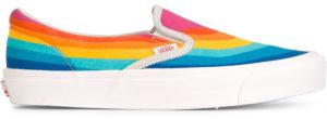 Chaussures de skate arc-en-ciel