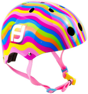 Funbee Colours Casque Bol + Set De Protection (53-56 cm) - OFUN318-C FUNBEE COLOURS - Casque Bol + Set De Protection
