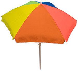 Parasol arc-en-ciel