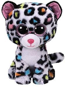 Tilley léopard peluche arc-en-ciel