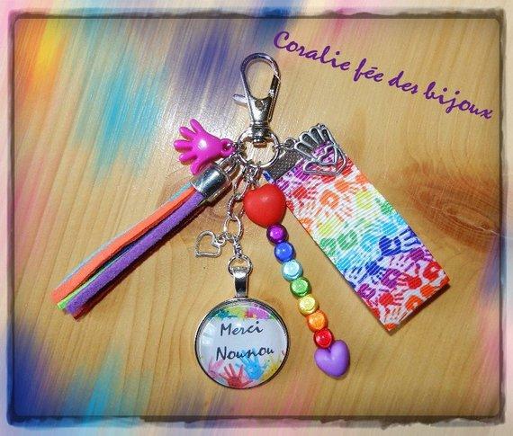 Porte-clé bijou de sac à main