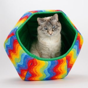 Panier boule chat
