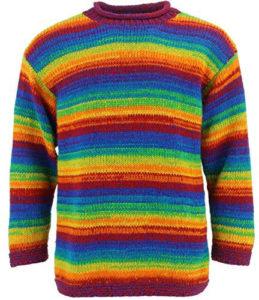 LOUDelephant pull épais laine tricot