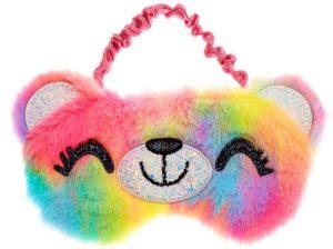 Masque de sommeil ours arc-en-ciel