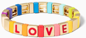 Spell it out custom bracelet