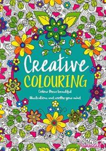 Livre de coloriage creative colouring