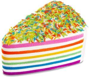 Tranche de gâteau anti-stress