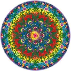 Puzzle rond mandala 1000 pièces rond
