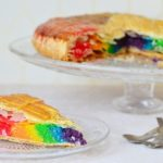 Rainbow galette des rois (photo par Do You Cake?)