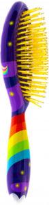 Brosse à cheveux arc-en-ciel Pylones