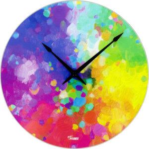 Horloge arc-en-cile Pylones Monet time