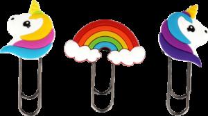 Trombones arc-en-ciel et licornes Pylones