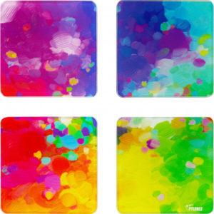4 dessous de verre palette
