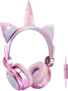 Casque filaire pour enfants avec microphone 85 dB