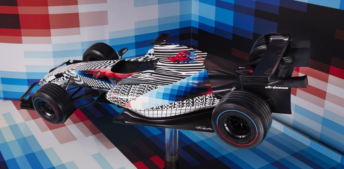 Formule 1 Alpine Felipe Pantone