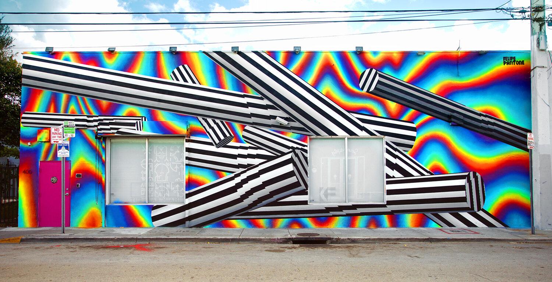 Fresque murale à Miami, Wynwood