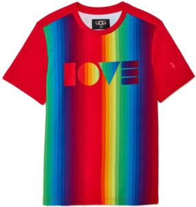 T-shirt Ugg arc-en-ciel